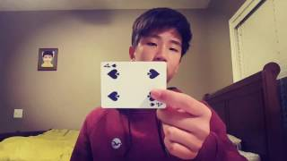 SNAP CHANGE TUTORIAL// Beginner card magic