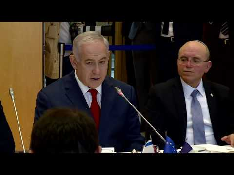 PM Netanyahu Meets with French Economy and Finance Minister Bruno LeMaire