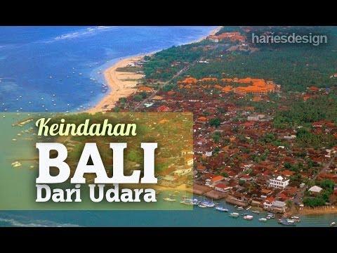 Keindahan Pulau Bali Dari Udara