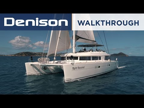 Lagoon 620 Catamaran Walkthrough [Wiley Sharp]