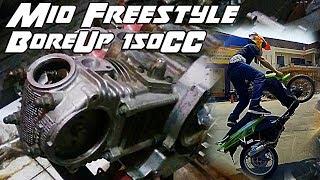 Bore Up Mesin Mio Untuk Freestyle 150cc