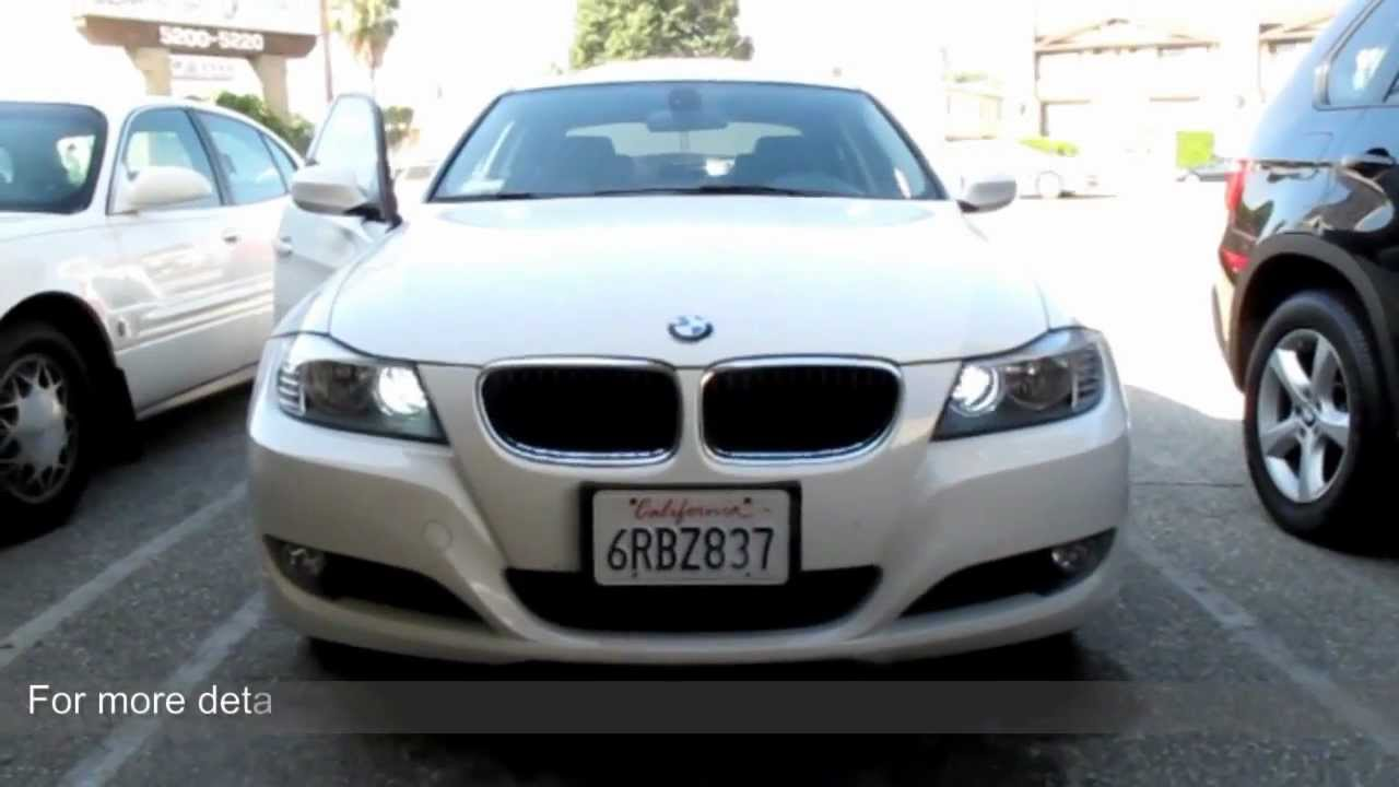 Xenon White 68 Smd H7 Led Daytime Lights On Bmw E90 328i