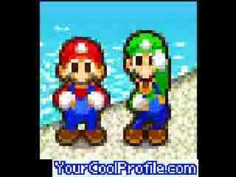 0 Mario and Luigi dancing to a Truck driving song!
