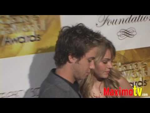 JEREMY SUMPTER and AIMEE TEEGARDEN at Change the World Humanitarian Awards Gala May 31, 2009 Video