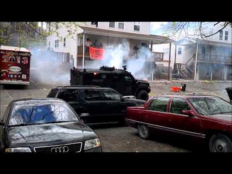 Bloomsburg Block Party 2013 - Riot Vehicle Tear Gas