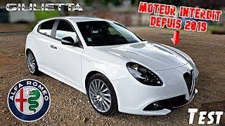 """""""Test"""" Neuve mais déjà en fin de vie """"Alfa Roméo Giulietta 1.4TB 170ch de 2018"""""""