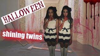 Tutorial de Halloween: GÊMEAS DO MAL (Shining Twins) | Ana Laura Lopes