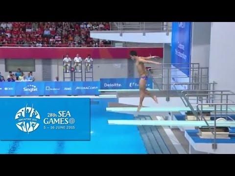 Aquatics Diving 3m Men's Final (Day 2) | 28th SEA Games Singapore 2015