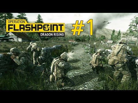 #5.2 Пятая миссия - вторая часть Operation Flashpoint- Dragon Rising (Прохо
