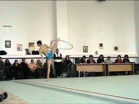 Silvia Miteva Hoop Test competition 16.02. 2011