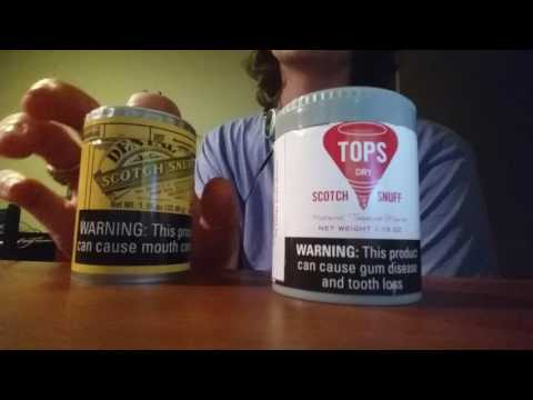 Tops dry snuff nasal review, just devine