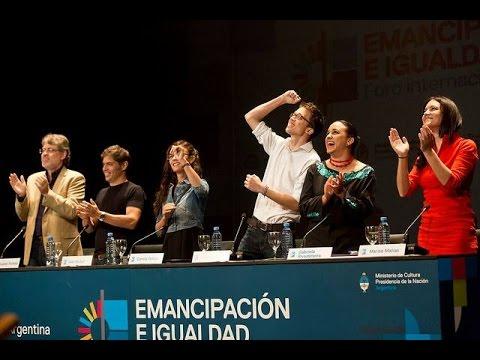 Foro Internacional Emancipación e Igualdad   La Nueva Generación ante la disputa del presente
