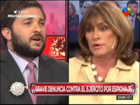 Diego Brancatelli le respondió a Silvia Fernández Barrio