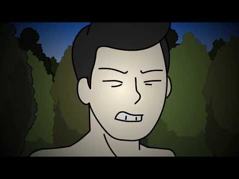 True Camping Alone Scary Story Animated