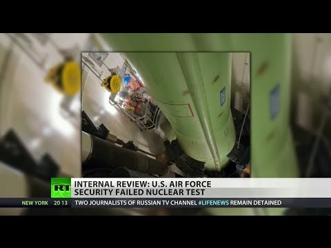 Air Force nuclear missile silo staff fails security test