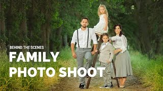 CREATIVE Family Photo Shoot with props, family photo ideas, Sacramento photographers