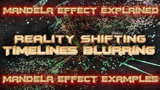 Mandela Effect Explained  Reality Shifting  Timelines Blurring  Mandela Effect Examples