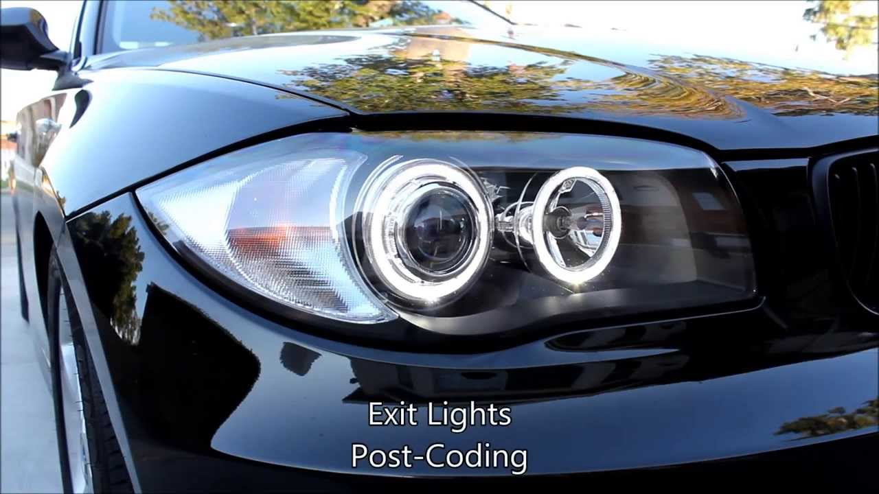 Depo Headlight 2011 Bmw 128i Youtube