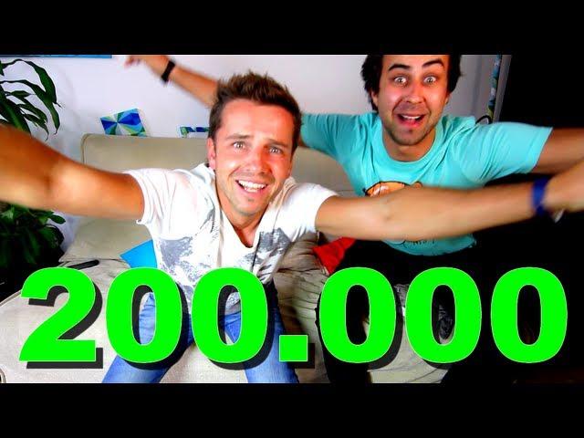 200.000 ODBĚRATELŮ ViralBrothers (1. místo na YouTube CZ/SK)