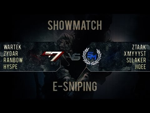Présentation e-Sniping | Showmatch SupreM VS eAxis