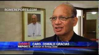 Romereports Vaticano Videos del Papa Francisco Homilias - El cardenal Oswald Gracias, representante de Asia en la reforma de la Curia
