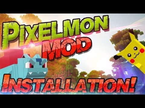 ༺ Minecraft 1.6.2 Pixelmon Mod Tutorial ༻ 172 Pokemon in Minecraft! - Windows + Mac | German Deutsch