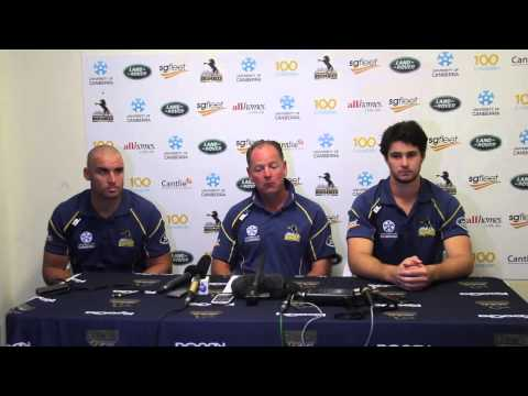 Brumbies vs Reds Pre-match Press Conference | Super Rugby Video Highlights