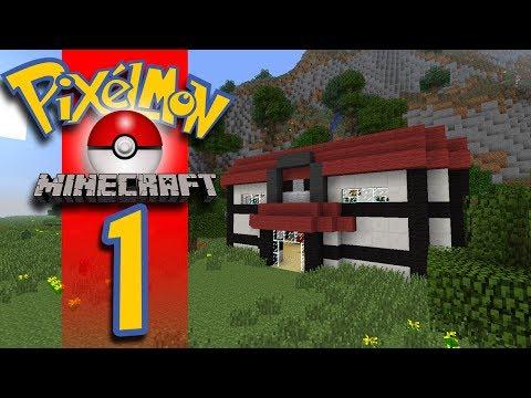 Minecraft Pixelmon - EP01 - Pokemon For Minecraft!
