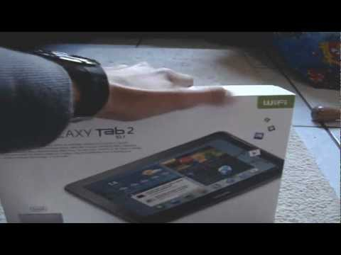 Unboxing Tablet Samsung Galaxy Tab 2 10.1 P5110 - [PT-BR]