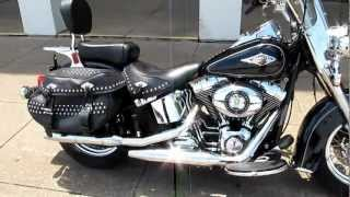 2012 Harley-Davidson Heritage Softail Classic, loaded, for sale in Texas, hear it run