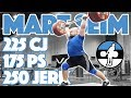 Mart Seim Heavy Training (225kg C&J + 175kg Power Snatch + 250kg Pause Jerk) - 2017 WWC [4k 60]