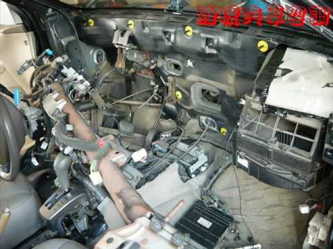 Evaporator Core Replacement Mitsubishi Lancer 2002