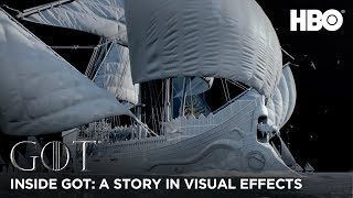 Inside Game of Thrones: A Story in Visual Effects - BTS (HBO)