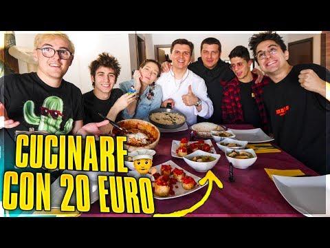 Ho SOLO 20 EURO, QUANTE COSE riesco a CUCINARE?