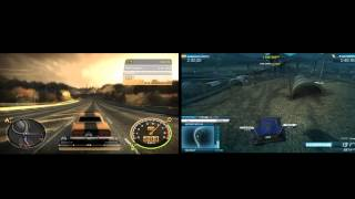 NFS Most wanted 2005 VS NFS Most wanted 2012 сравнение (compare)