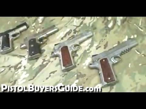 Colt 1911 Frame Sizes
