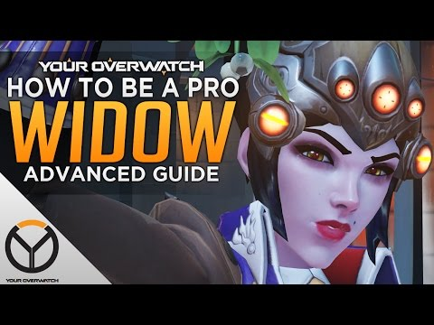 Overwatch: How to Be a Pro Widowmaker - 3DPS Comp...