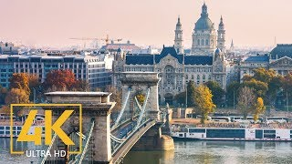 4K Budapest, Hungary - Urban Documentary Film - Top European Destinations - Trip to Europe