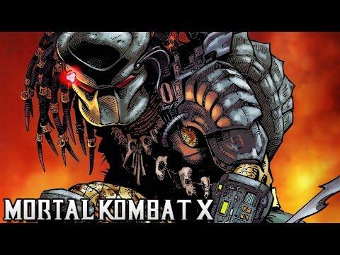 ХИЩНИК в MORTAL KOMBAT X! (Predator)