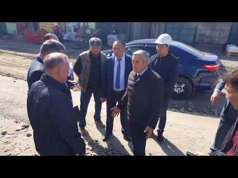 Аким Талдыкоргана на объезде по газификации. Часть первая.