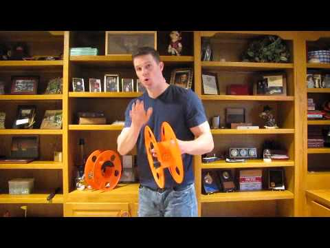 Demonstration Of Improved Electrical Cord Reel Youtube