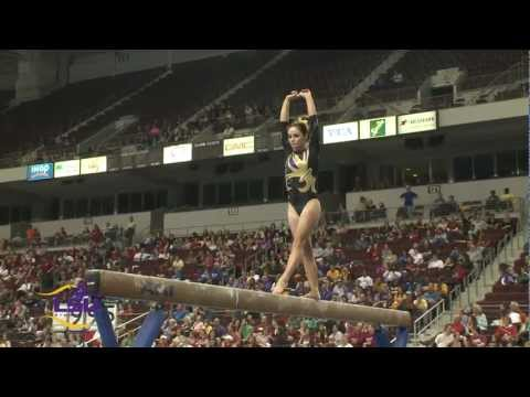 LSU Gymnastics at the 2013 SEC Championships