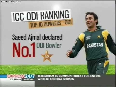 Pakistan climbs ICC ODI rankings