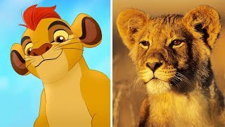 The Lion Guard Characters In Real Life | All Characters 2017