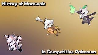 How GOOD was Marowak ACTUALLY? - History of Marowak in Competitive Pokemon (Gens 1-7)