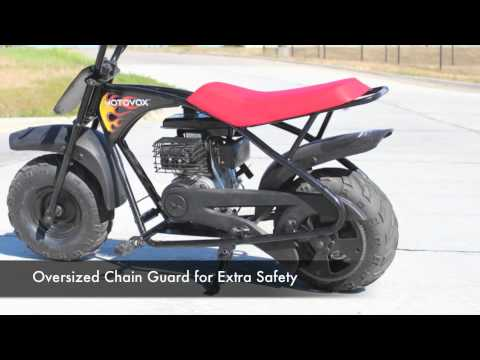 Motovox MBX10 Review   Mini Bike