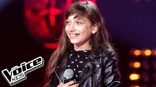 "Wiktoria Gabor - ""Roar"" - Przesłuchania w ciemno - The Voice Kids Poland 2"