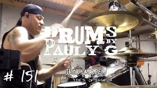 Iron Maiden - The Ides Of March [Drum Cover] by Paul Gherlani