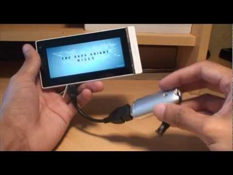 Sony Xperia S: USB OTG Increase Storage Space / Transfer Files Between Smartphones