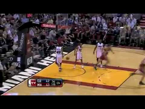 LeBron James vs Dwyane Wade Showdown 1-25-2010